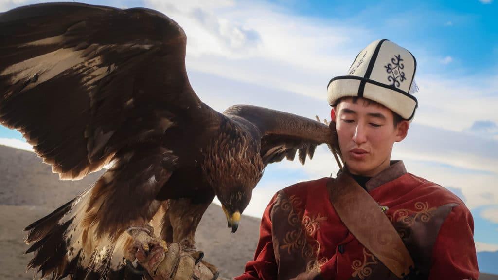 Een ontmoeting met de arendjagers van Kirgizië