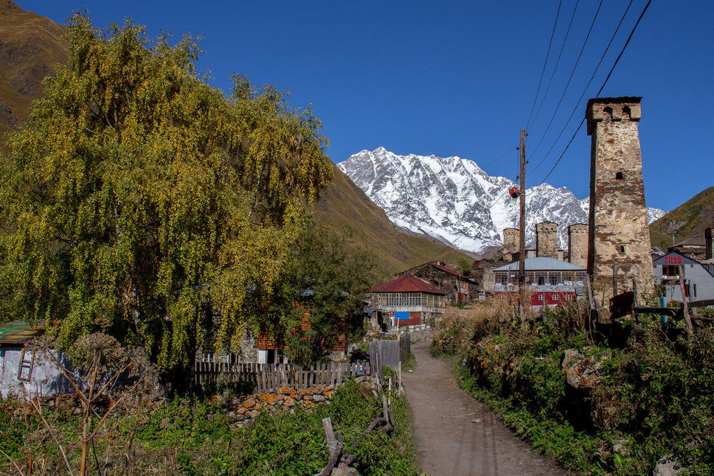 Mooie bezienswaardigheden in Georgie - Ushguli - Svaneti - Journal of Nomads