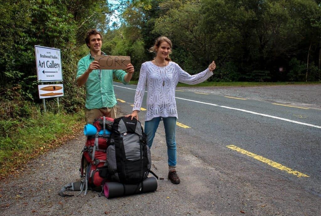 hitchhiking in Ireland