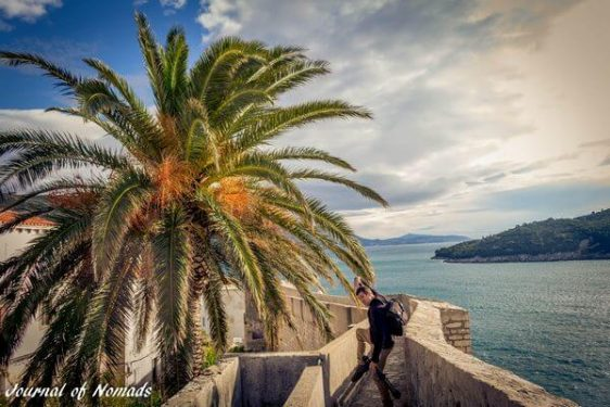 A walk on the walls of Dubrovnik, Croatia