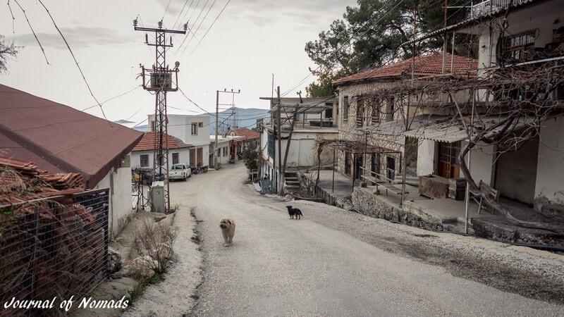 Street view of a little village