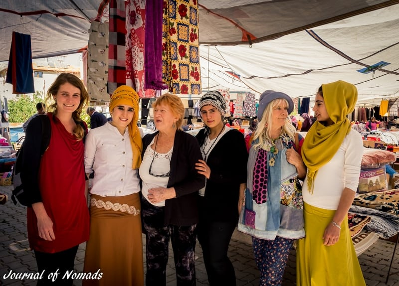 Turkish market - Journal of Nomads