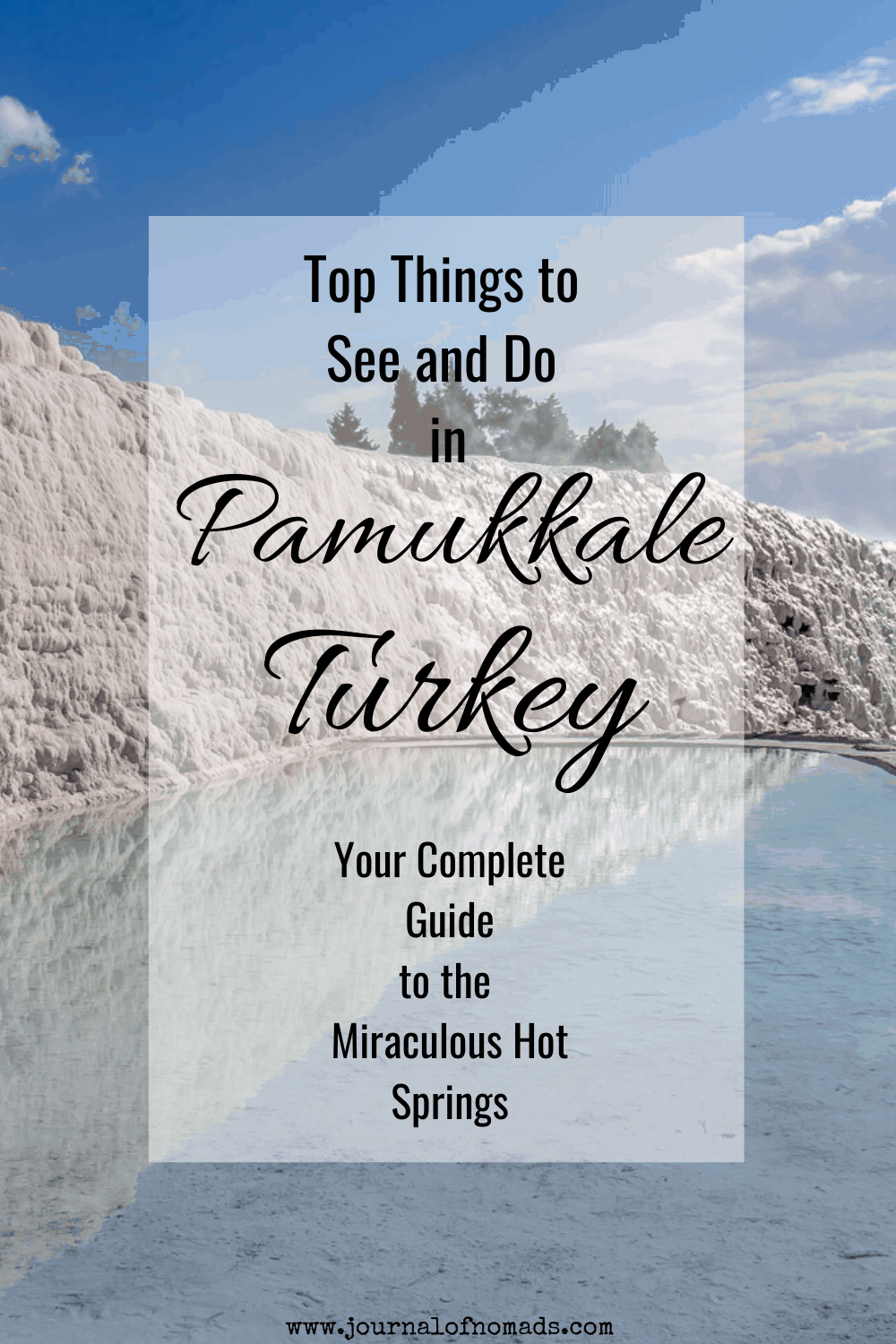 complete guide to Pamukkale