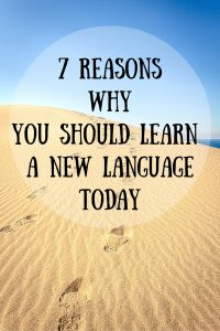 7 Inspiring Reasons why you should learn a new language today - Journal of Nomads
