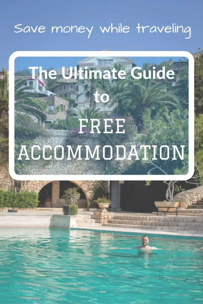 Save money while traveling - The Ultimate Guide to FREE ACCOMMODATION - Journal of Nomads