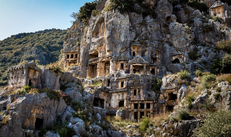 Awesome places to hitchhike in Turkey - Myra - Journal of Nomads