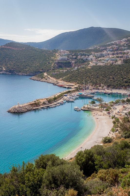 Hitchhiking in Turkey - Kalkan - Journal of Nomads