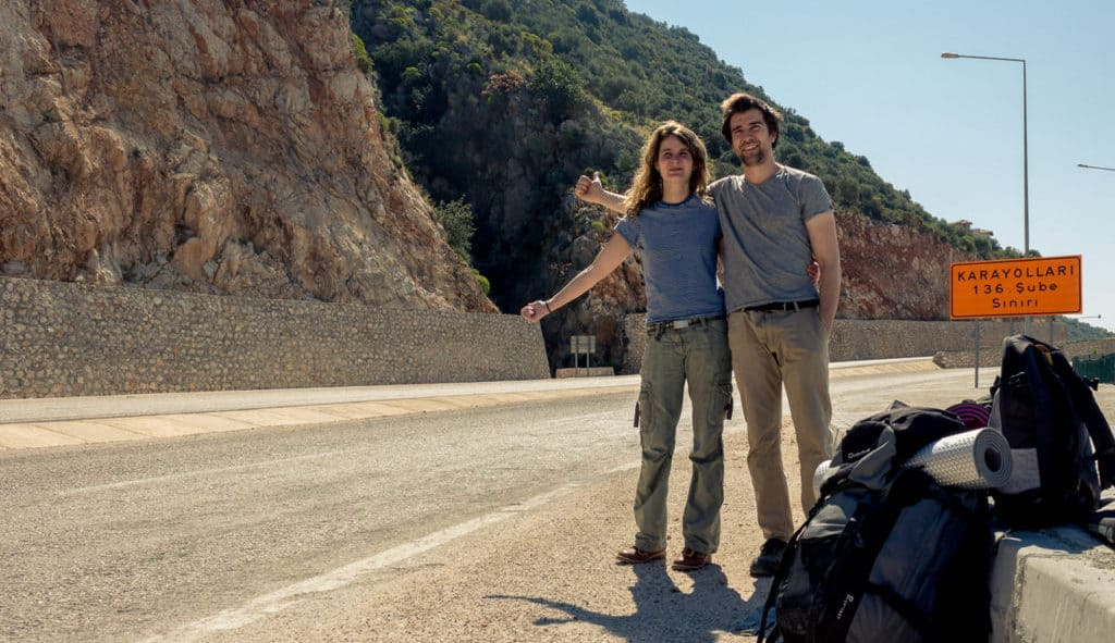 Hitchhikers By Side Of Road >> One Year Of Hitchhiking The Good The Bad And The Untold Stories