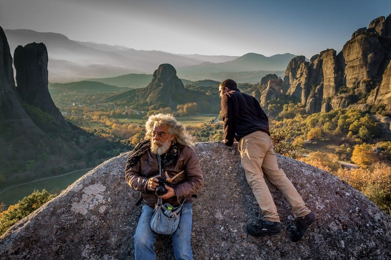 Hitchhiking in Greece - Meteora - Journal of Nomads