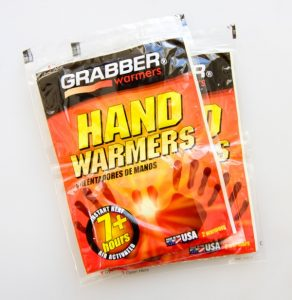 Hitchhiking in winter - Hand warmers -Journal of Nomads