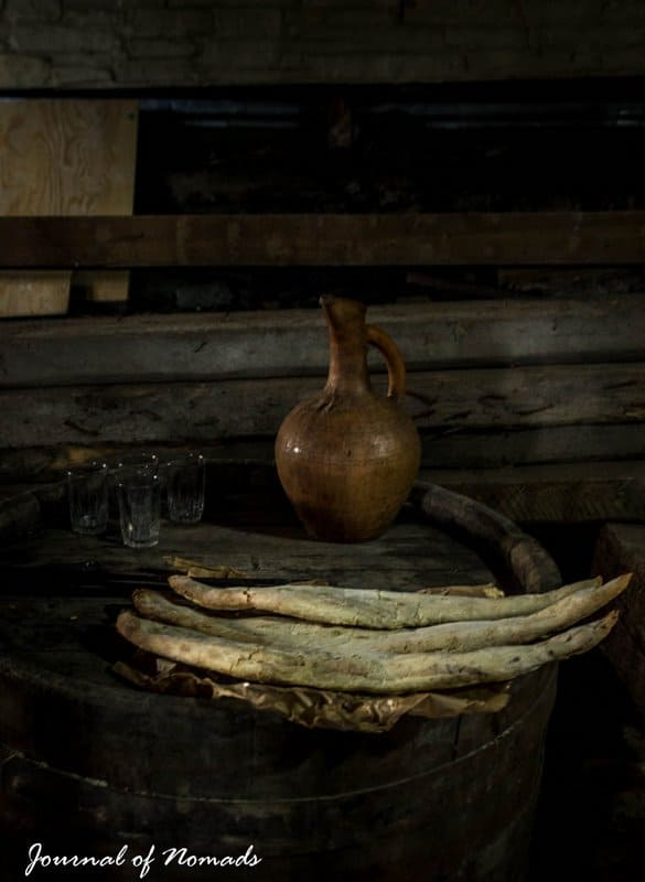 Georgian cuisine - shortis puri - Journal of Nomads