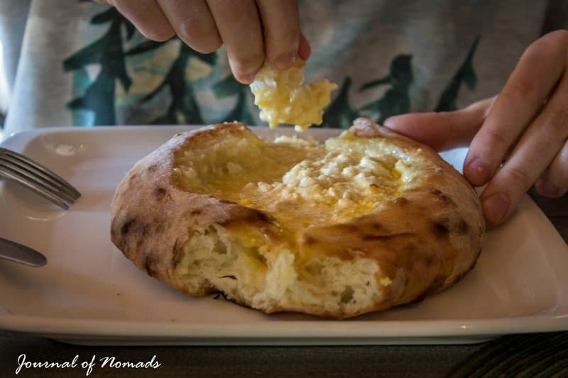 Georgian cuisine -khachapuri - Journal of Nomads