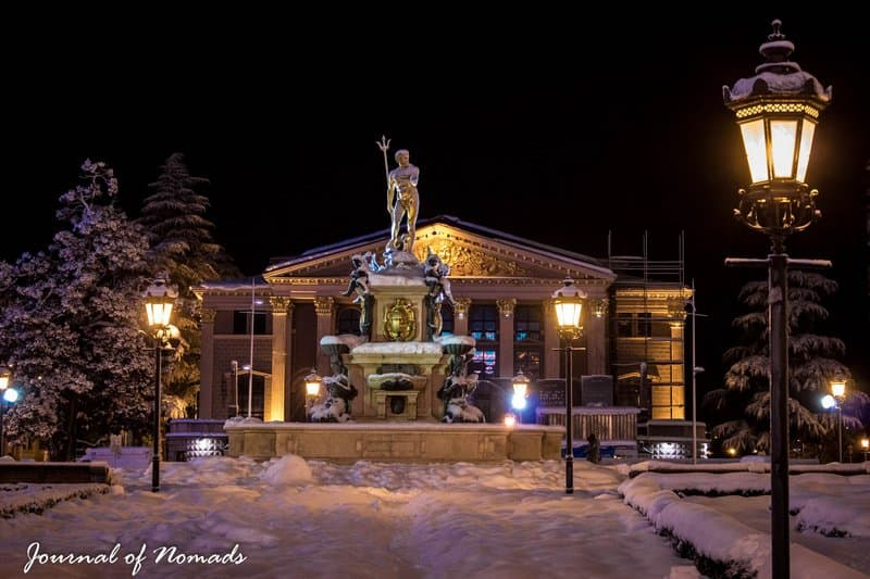 Winter wonderland in Batumi - snow - Journal of Nomads