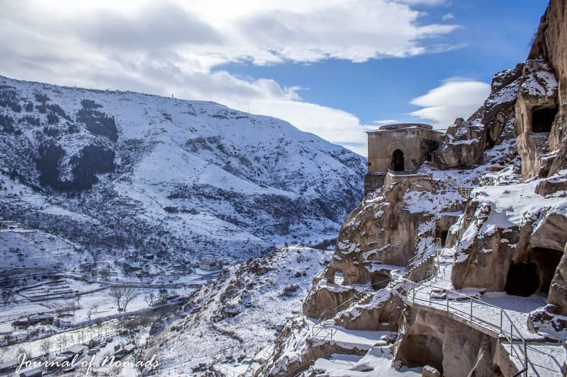 The ancient cave city of Vardzia - Journal of Nomads