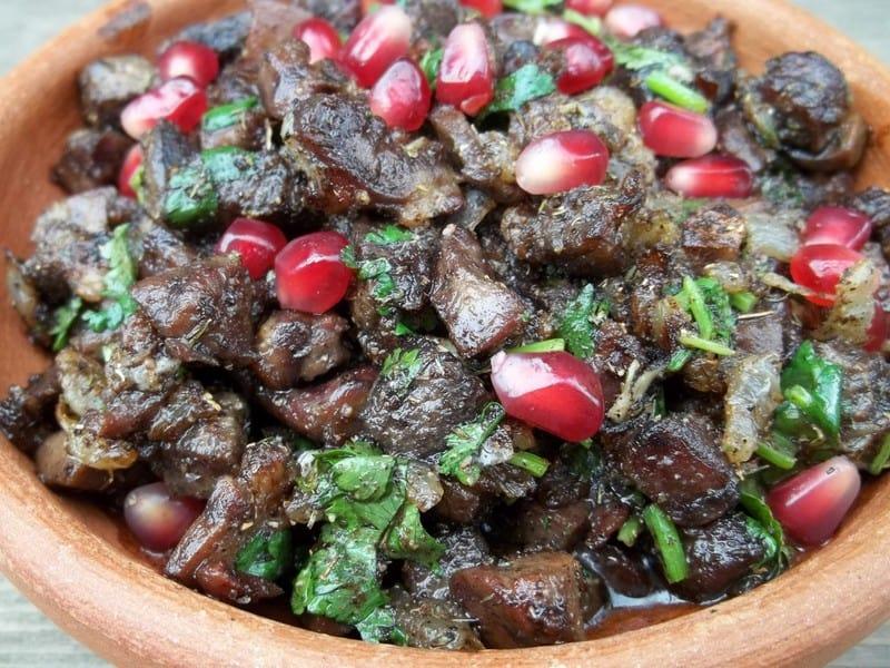 Georgian cuisine - kuchmachi - Journal of Nomads