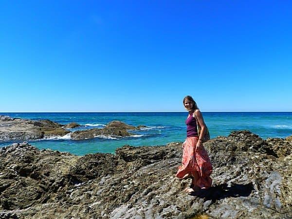 Cynthia in Australia