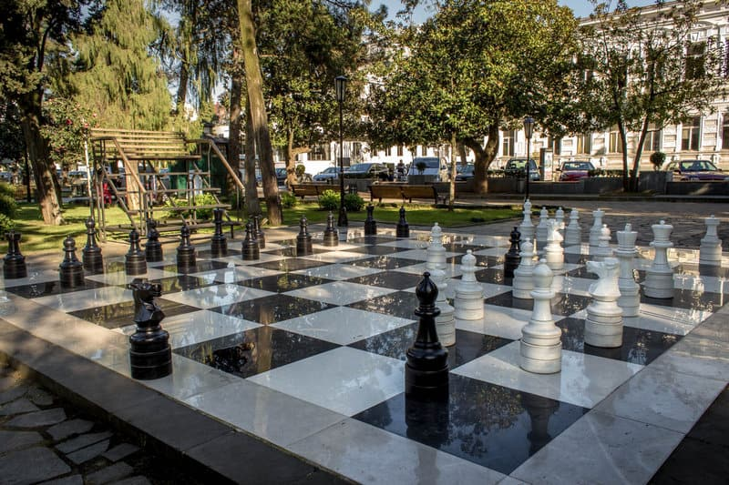 Batumi - Journal of Nomads - Outdoor Chess