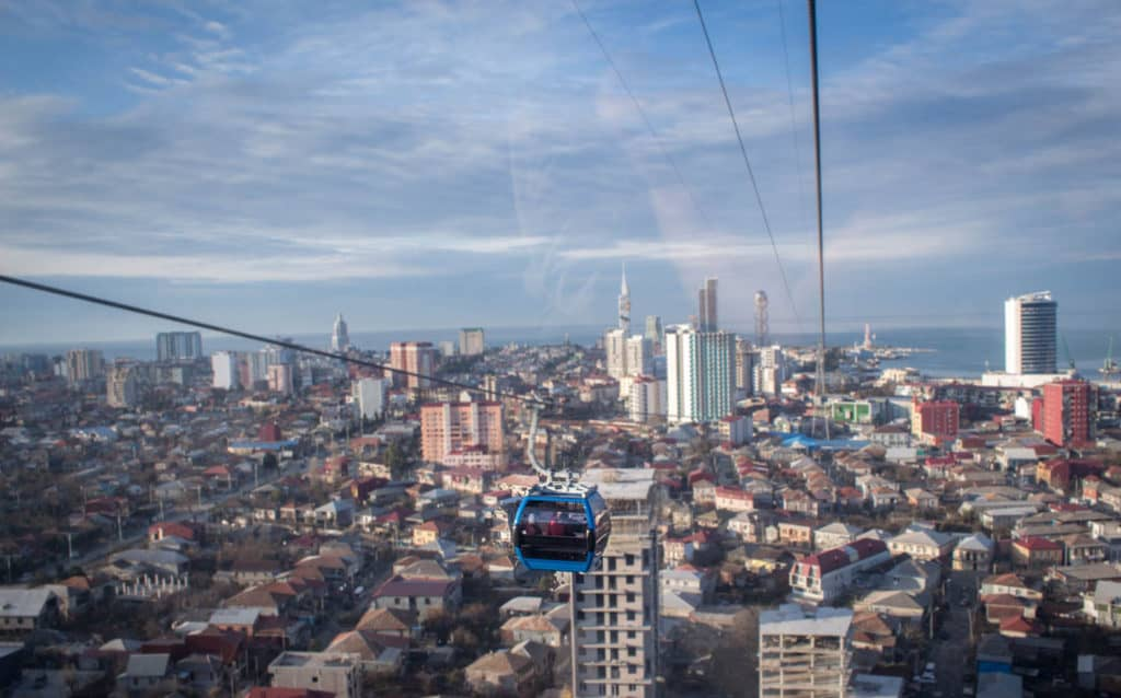 Batumi - Journal of Nomads - Argo Cable Car