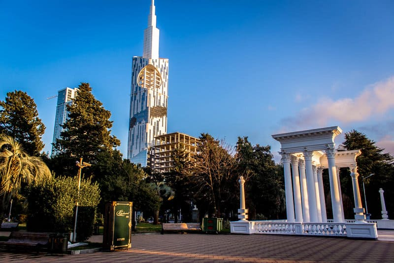 Batumi - Journal of Nomads - Boulevard