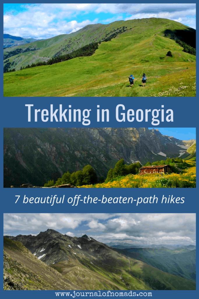 Hiking in Georgia (the country in Europe) is an unforgettable experience! This tiny country in the Caucasus is a great trekking destination for outdoor lovers. There are many hiking trails in Georgia and in this Georgia Trekking Guide, we've selected the 7 best and most beautiful off-the-beaten-path hikes in Georgia for you!