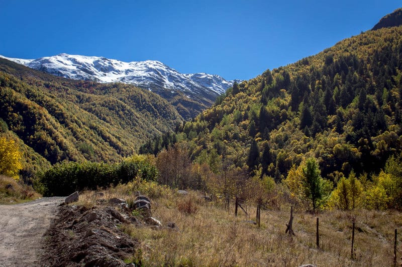 Hitchhiking in Georgia - Road to Ushguli - Svaneti - Journal of Nomads