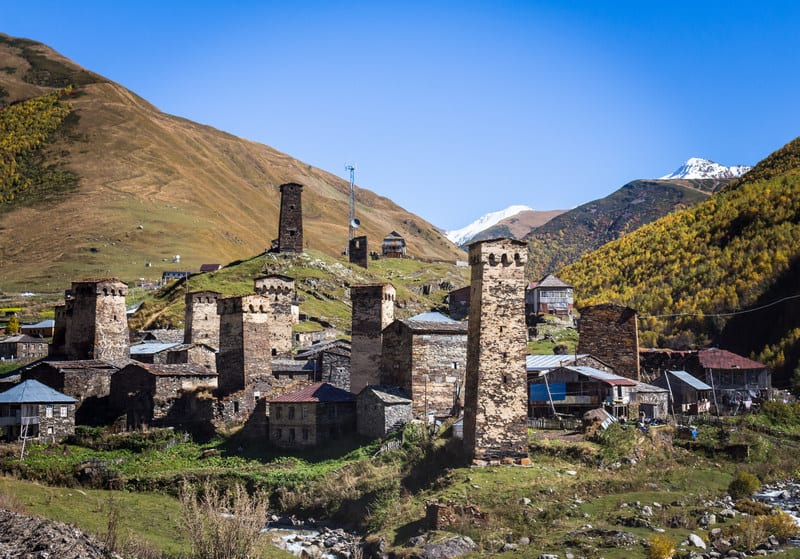 Hitchhiking in Georgia - Ushguli - Svaneti- Journal of Nomads
