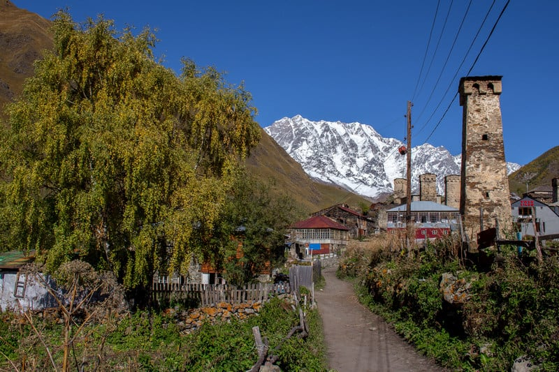 Hitchhiking in Georgia - Ushguli - Svaneti - Journal of Nomads