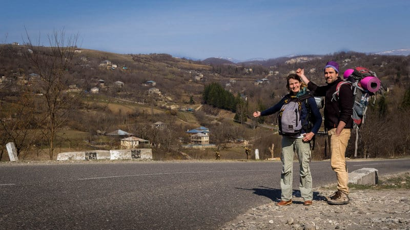 Hitchhiking in Georgia -Journal of Nomads