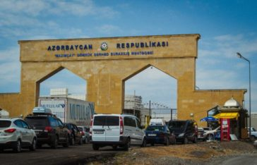 Azerbaijan border - Balakan - Journal of Nomads