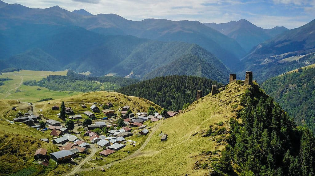 Hitchhiking to Tusheti, Georgia's most beautiful and remote region