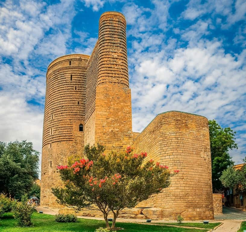 Maiden tower in Baku - Azerbaijan - Journal of Nomads