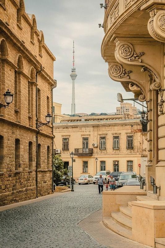 city center of Baku - Azerbaijan - Journal of Nomads
