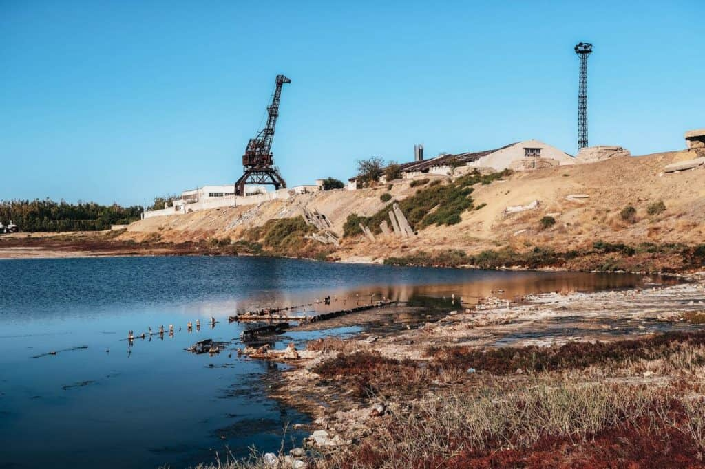 What happened to the Aral Sea? Visiting the ship graveyard of Aral and Zhalanash - Journal of Nomads - abandoned port of Aral - ship graveyard Kazakhstan