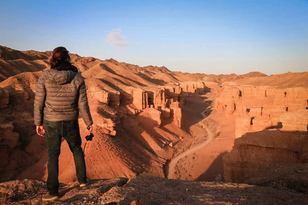 Charyn Canyon - Kazakhstan -Valley of Castles - sunrise - Journal of Nomads