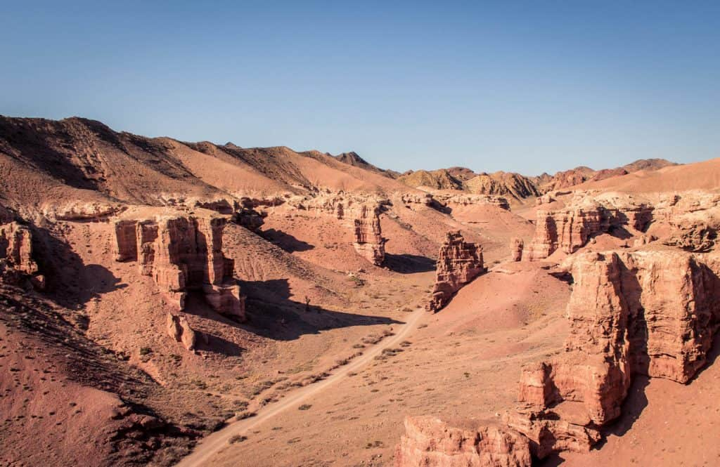 Charyn Canyon - Kazakhstan -Valley of Castles - hiking trail - Journal of Nomads