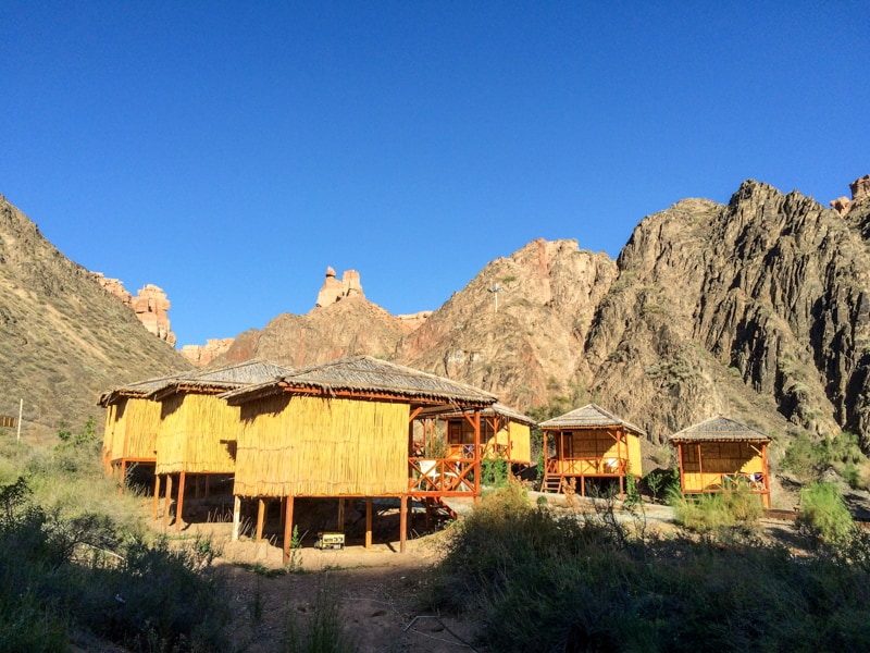 Charyn Canyon - Eco Village in Charyn Canyon - cabins -Banana Journeys