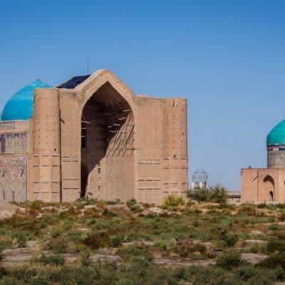 Turkestan Kazakhstan Khoza Ahmed Yasawi Mausoleum