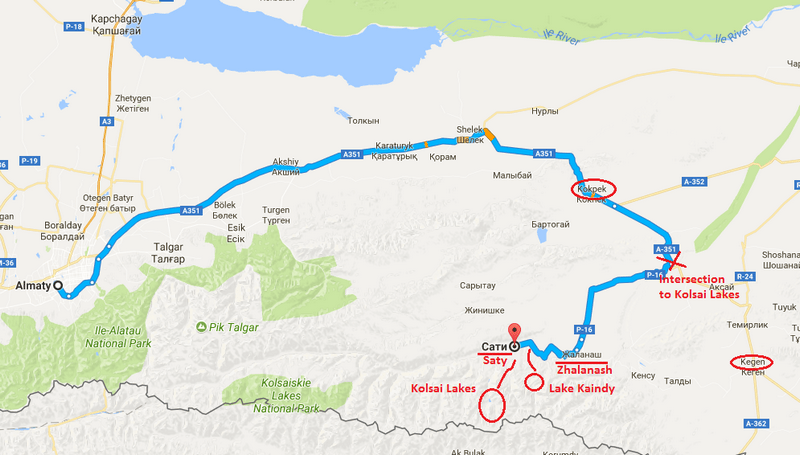 How to get to Kolsai Lakes and Lake Kaindy from Almaty - Journal of Nomads