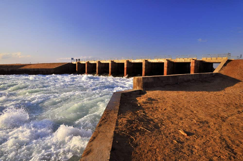 What happened to the Aral Sea? Visiting the ship graveyard of Aral and Zhalanash - Journal of Nomads - Kokaral Dam