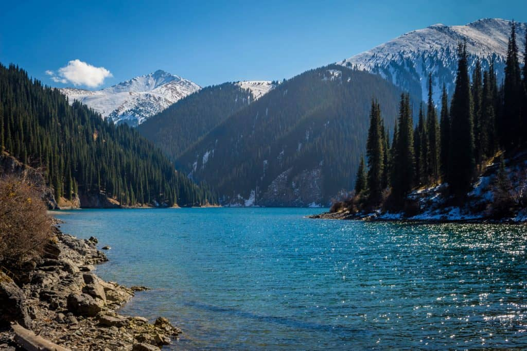 Kolsai Lake - Travel Guide to Kolsai Lakes and Kaindy Lake - second Kolsai lake - Journal of Nomads