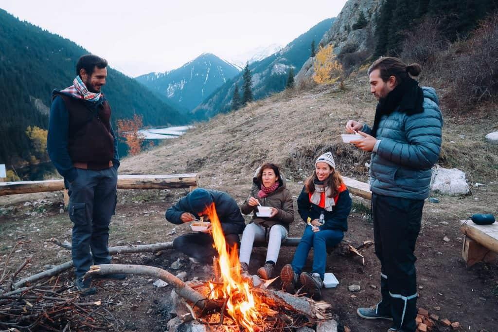 Travel Guide to Kolsai Lakes - Camping at Kolsai Lake 1 - Journal of Nomads