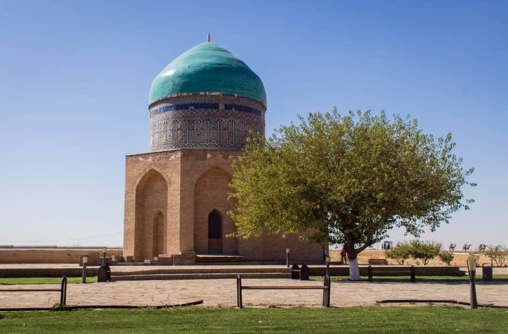 Rabigha Sultan Begum Mausoleum Turkestan Kazakhstan