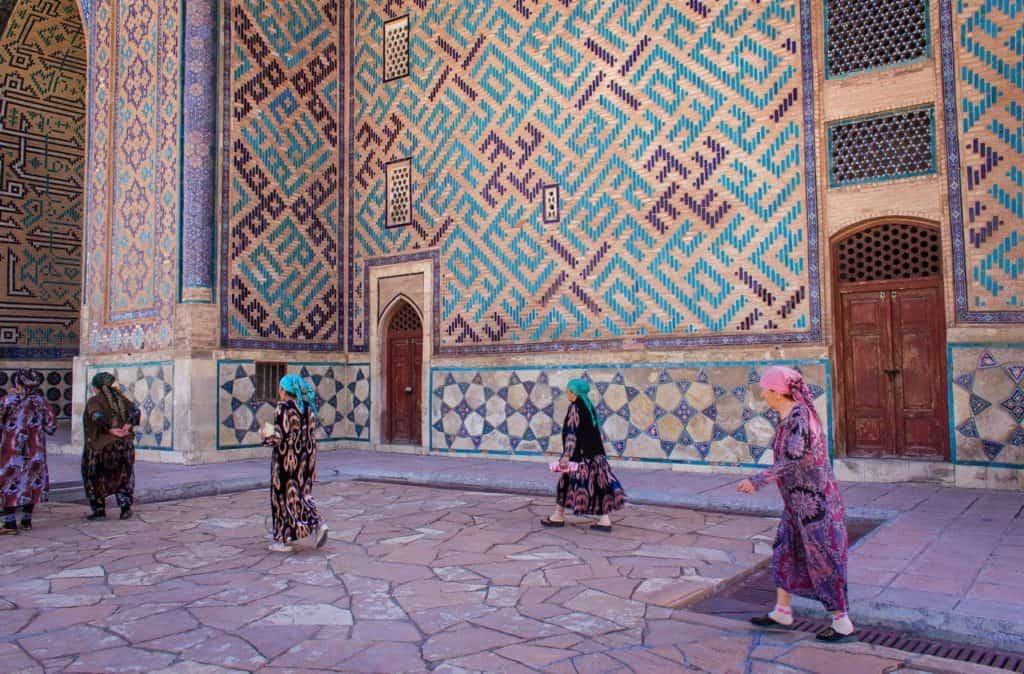 Turkestan pilgrims