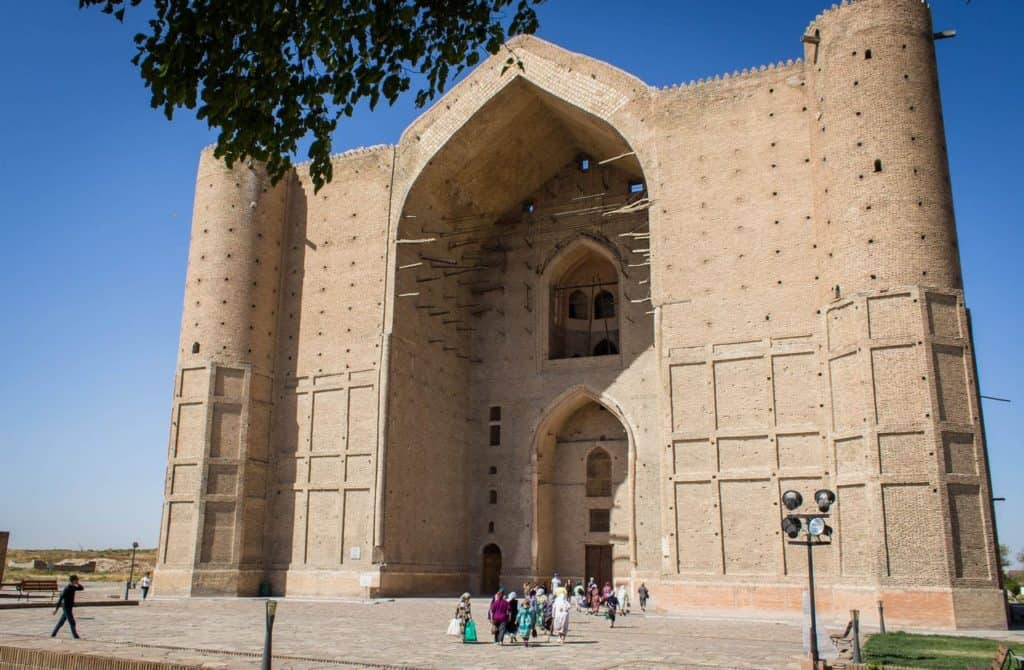 Turkestan Kazakhstan Khoza Ahmed Yasawi Mausoleum pilgrimage site