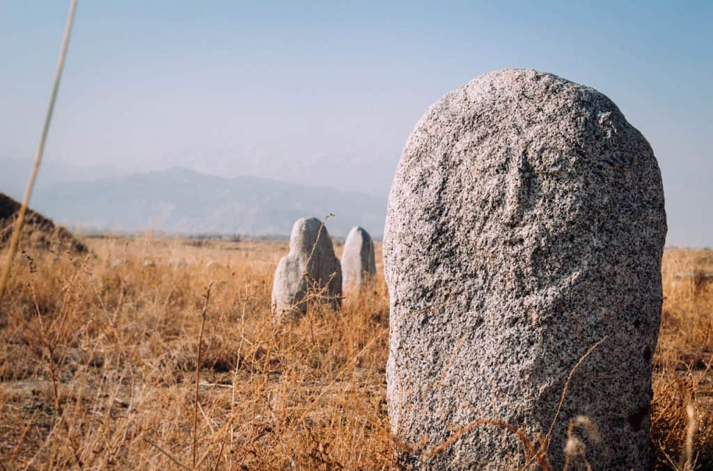 Burana Tower - Kyrgyzstan - Bal-bal Gravestones - Silk Road - Journal of Nomads