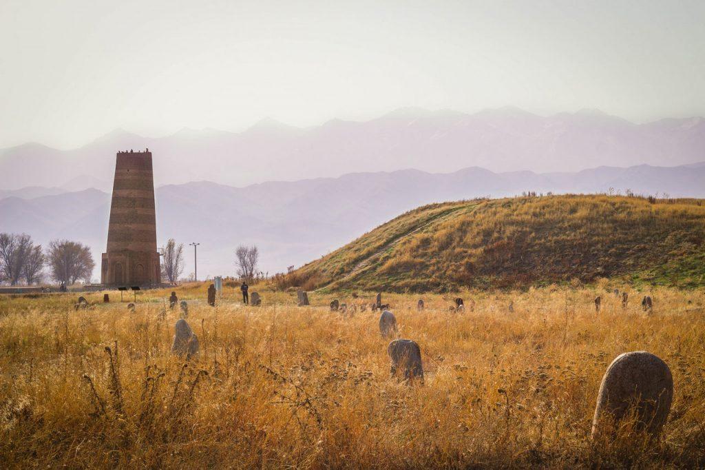 Burana Tower - Kyrgyzstan - historical monument - Landmark - Silk Road - Journal of Nomads