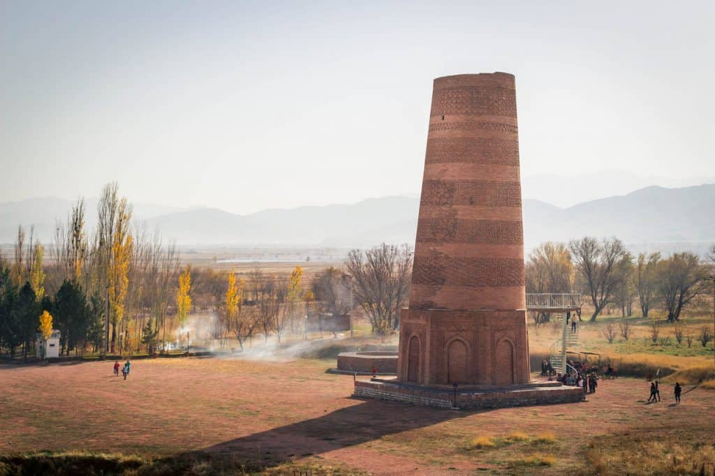 Burana Tower - Kyrgyzstan - historical monument - Landmark - Silk Road - Journal of Nomads