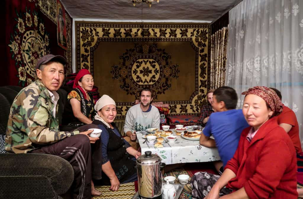 Staying with a family in Kyrgyzstan - - Hitchhiking in Kyrgyzstan - Journal of Nomads