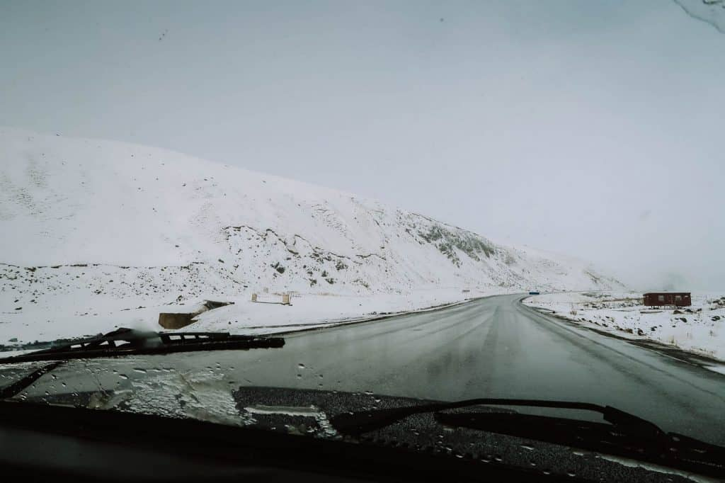 Snowy roads - - Hitchhiking in Kyrgyzstan - Journal of Nomads