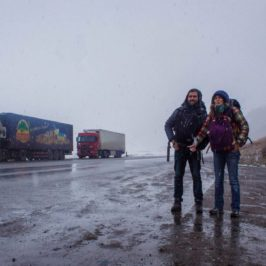 The pleasant and unpleasant surprises of hitchhiking in Kyrgyzstan
